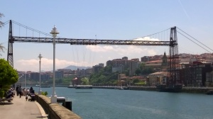 Bilbao..only a few of this type of bridge still in existence in the world